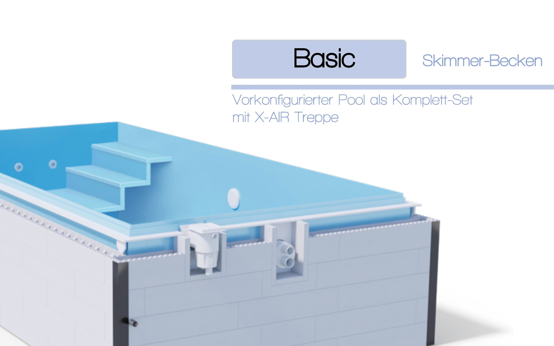 Basic - Skimmer-Becken