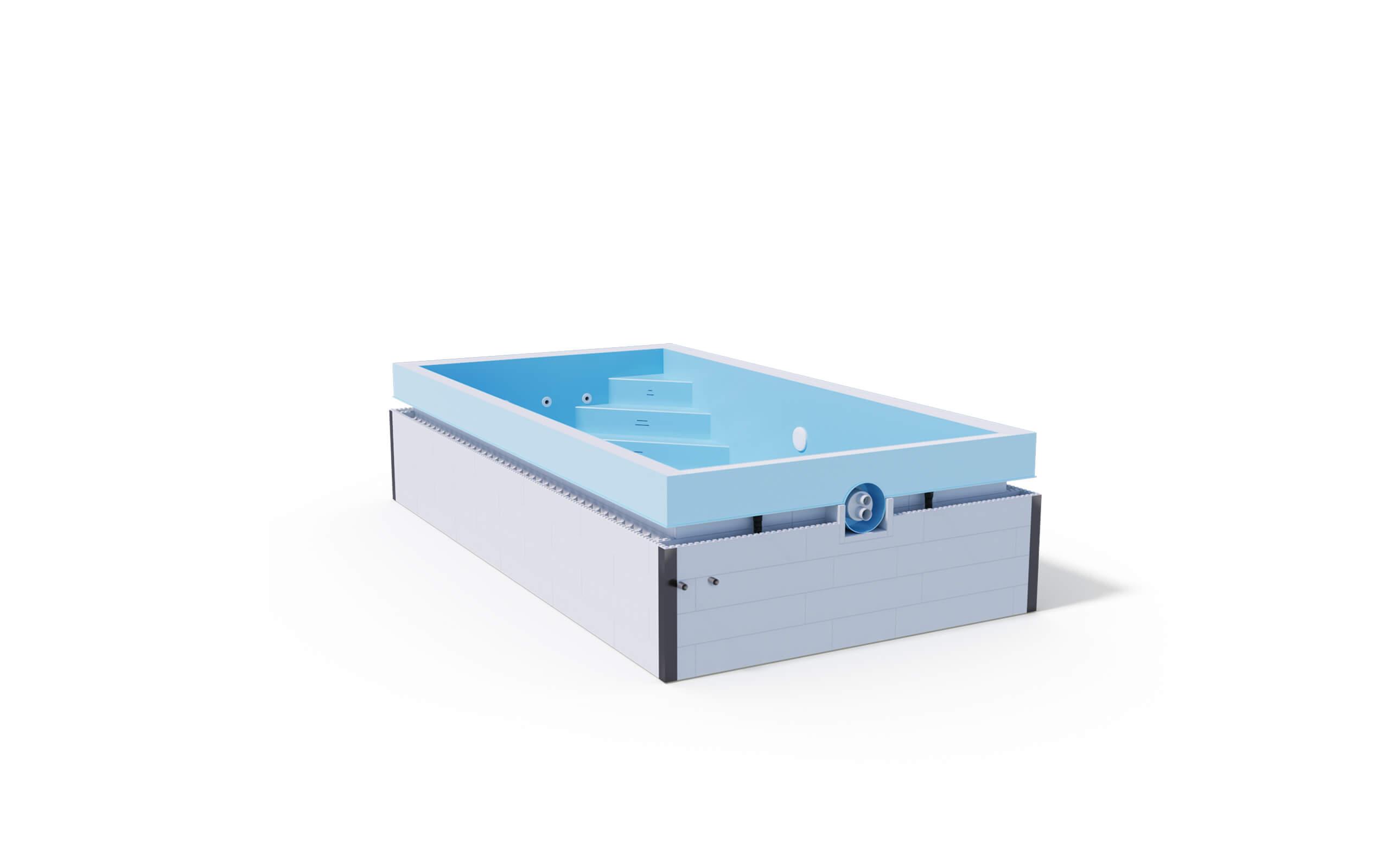 Premium - Überlauf-Becken